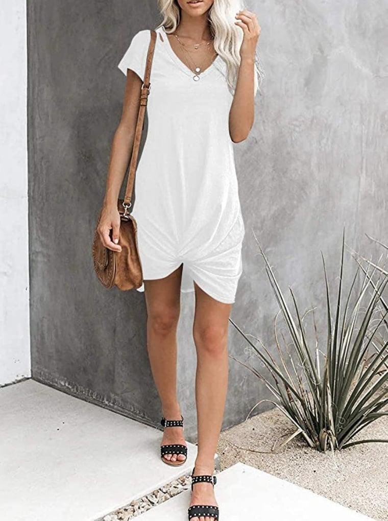 <p>You'll reach for this easy-to-throw-on <span>Harhay Knot Twist Dress </span> ($23) every day.</p>