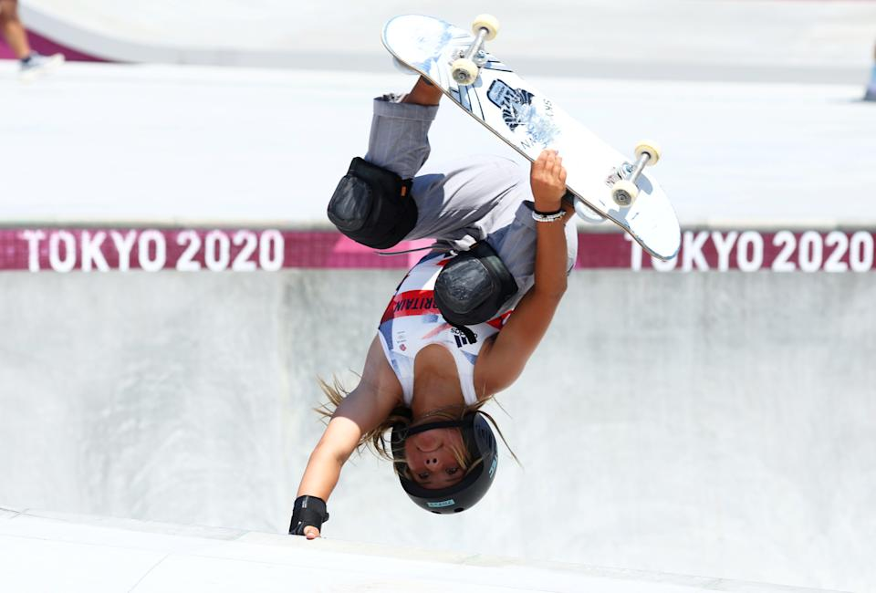 Sky Brown became Britain's youngest Olympic medallist of all-time when the 13-year-old won skateboarding bronze in Tokyo