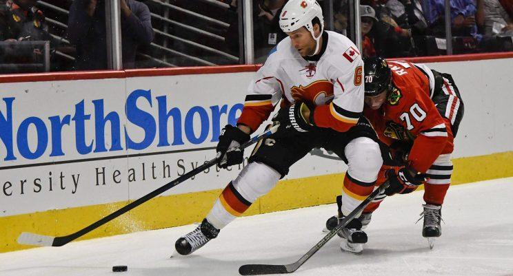 Dennis Wideman could attract some interest as a backup plan for teams looking for a power-play specialist. (Matt Marton/AP)