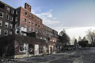 """<p><strong>Glenn Dale Hospital - Glenn Dale, MD</strong></p><p>The former tuberculosis hospital and sanatorium in Glenn Dale operated from 1934–1981. The hospital included both children and adult wards–each equipped with its own basement morgue. Naturally, <a href=""""https://www.washingtonpost.com/local/md-politics/a-long-vacant-former-tuberculosis-sanitarium-has-a-new-shot-at-redevelopment/2019/04/11/a4af4a36-5be4-11e9-842d-7d3ed7eb3957_story.html"""" rel=""""nofollow noopener"""" target=""""_blank"""" data-ylk=""""slk:ghost stories surrounding the abandoned building"""" class=""""link rapid-noclick-resp"""">ghost stories surrounding the abandoned building</a> are in no short supply.<br></p><p>Photo: Wikimedia Commons/<a href=""""https://en.wikipedia.org/wiki/Glenn_Dale_Hospital#/media/File:Glenn_Dale_Hospital_-_Adult_Hospital_Building_(side_view).JPG"""" rel=""""nofollow noopener"""" target=""""_blank"""" data-ylk=""""slk:Rosa Pineda"""" class=""""link rapid-noclick-resp"""">Rosa Pineda</a></p>"""