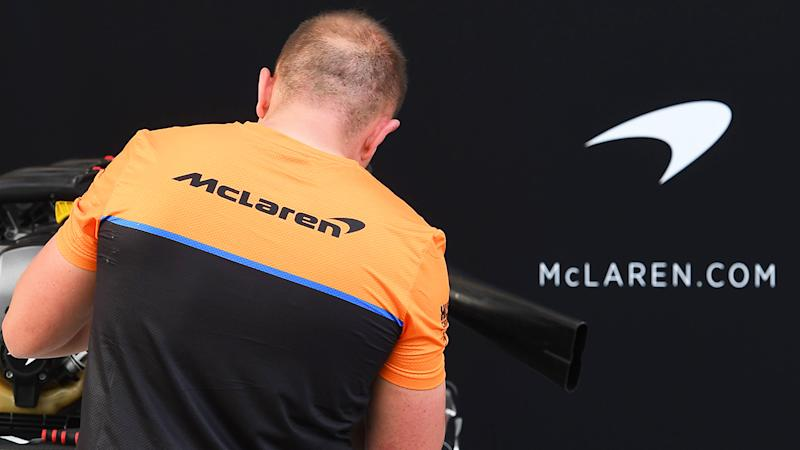 One member of the McLaren F1 team and two members of the Haas F1 team has been placed in isolation over fears they have contracted the coronavirus. (Photo by WILLIAM WEST/AFP via Getty Images)