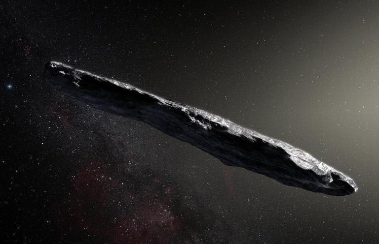 Huge, mysterious object flying past Earth might be an alien spacecraft, scientists say