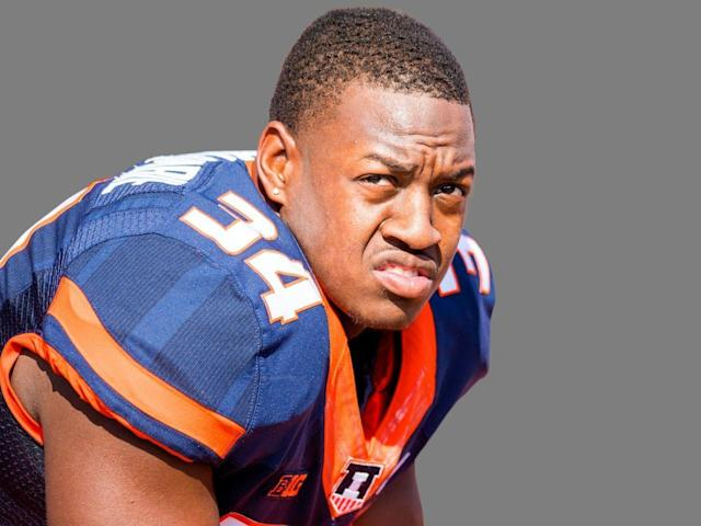 Tennessee State's Christian Abercrombie was injured in a September game against Vanderbilt.