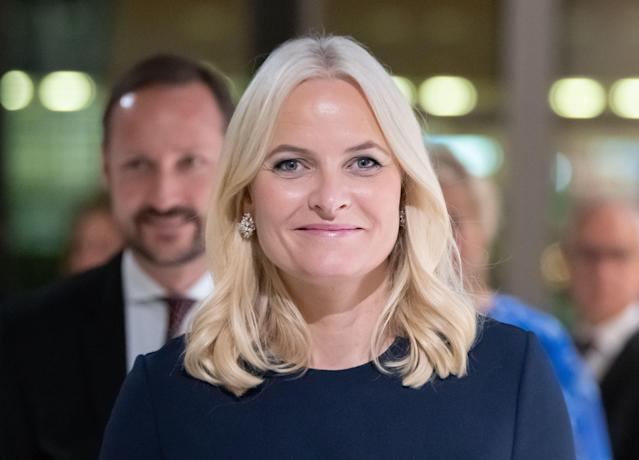 Crown Princess Mette-Marit of Norway has issued a statement of regret regarding her ties to Jeffrey Epstein. (Photo: SILAS STEIN/dpa/AFP via Getty Images)