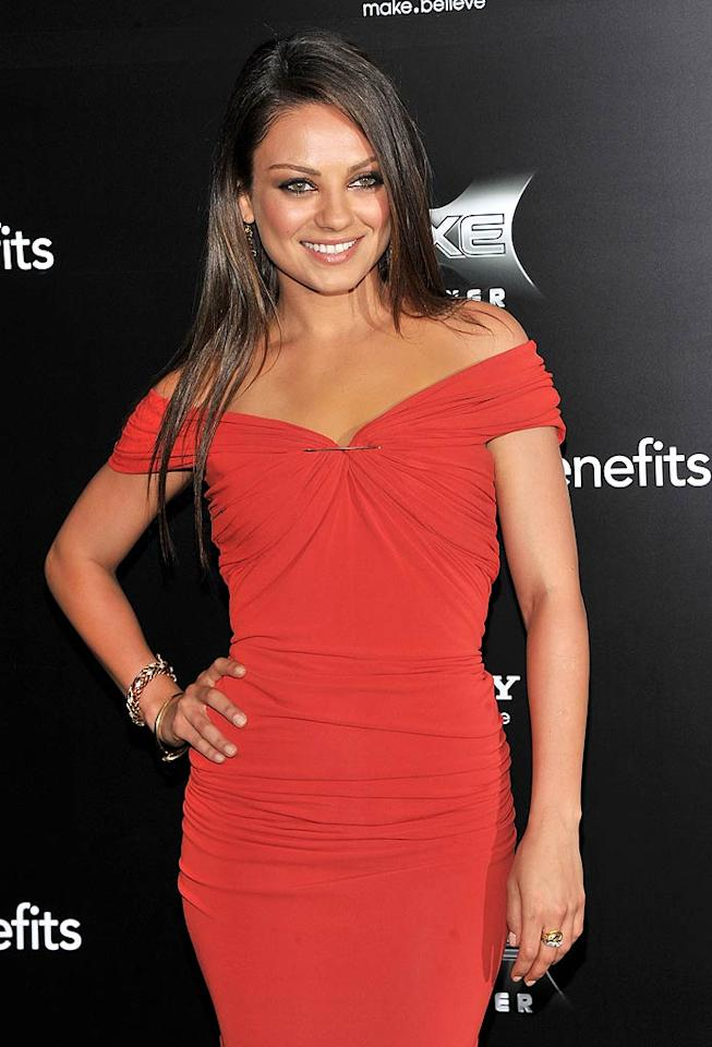 "August 14: Mila Kunis (""Black Swan"") turns 28. Stephen Lovekin/<a href=""http://www.gettyimages.com/"" target=""new"">GettyImages.com</a> - July 18, 2011"