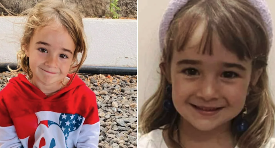 Olivia Zimmermann smiles in two separate photos.
