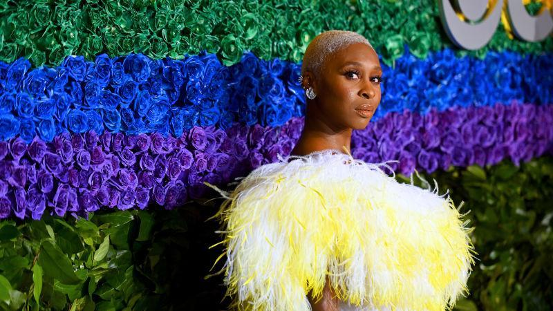 Cynthia Erivo attends the 73rd Annual Tony Awards at Radio City Music Hall on June 09, 2019 in New York City.