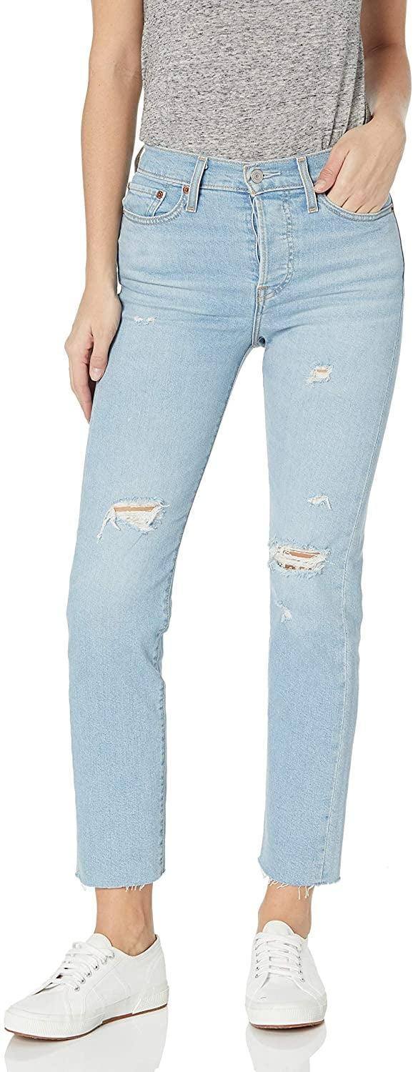 <p>These <span>Levi's Wedgie Straight Jeans</span> ($42, originally $70) are playful and fun.</p>