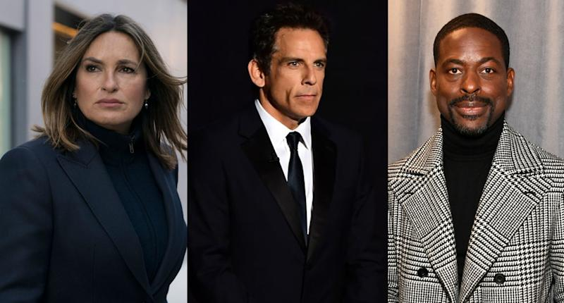 Mariska Hargitay, Ben Stiller and Sterling K. Brown are a few big names calling out NBC for the network's town hall with President Donald Trump. (Photo: Getty Images)