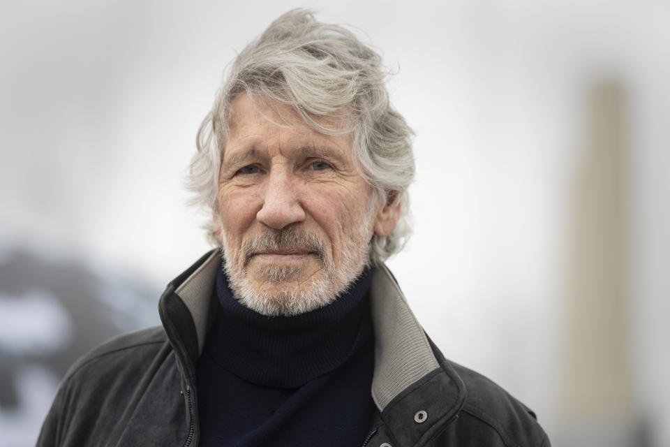 Roger Waters, co-founder and bassist in rock band Pink Floyd, who has announced his participation in a 'Free Assange' rally taking place on Saturday in London. (Photo by Victoria Jones/PA Images via Getty Images)