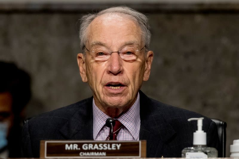 U.S. Senator Grassley backs plan to block EPA nomination over biofuel waivers