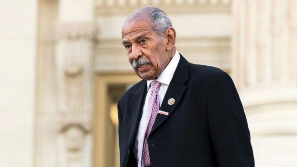 PHOTO: Rep. John Conyers, D-Mich., walks down the House steps after a vote in the Capitol on Sept. 27, 2016. (Bill Clark/CQ Roll Call via Getty Images FILE)