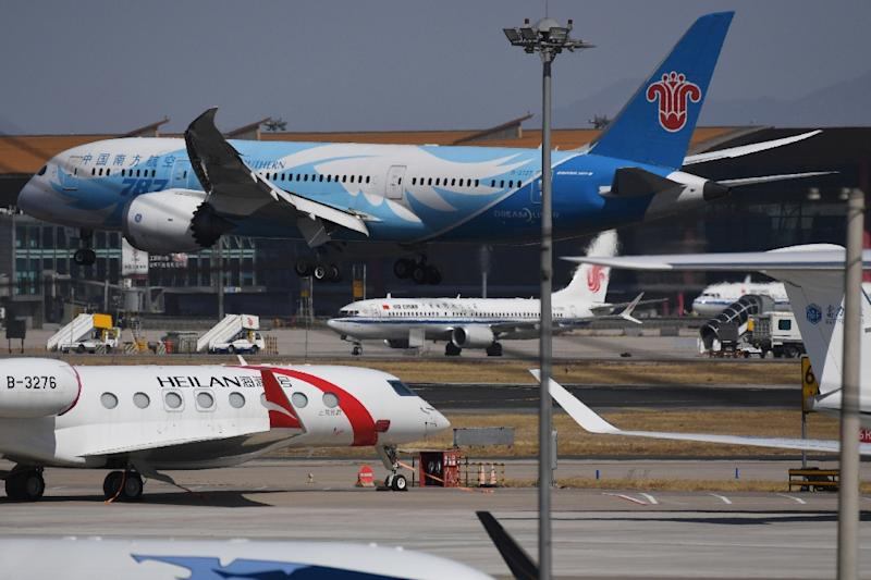 China is the world's fastest growing aviation market (AFP Photo/GREG BAKER)