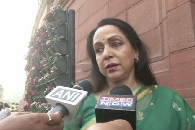hema malini, delhi pollution, hema malin news