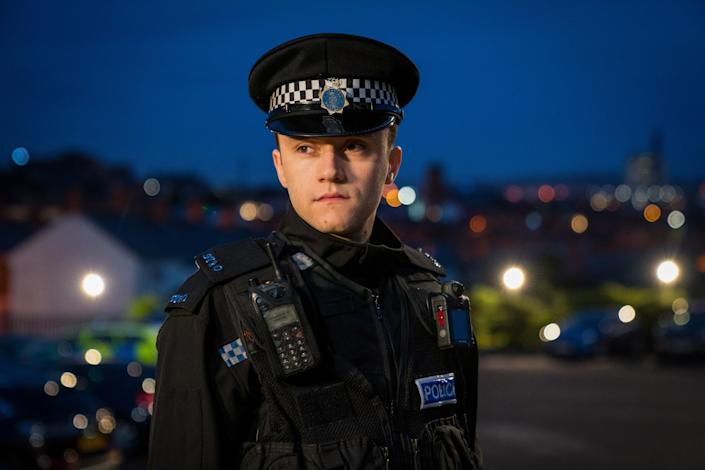 WARNING: Embargoed for publication until 00:00:01 on 13/04/2021 - Programme Name: Line of Duty S6 - TX: n/a - Episode: Line Of Duty - Ep 5 (No. n/a) - Picture Shows: *NOT FOR PUBLICATION UNTIL 00:01HRS, TUESDAY 13TH APRIL, 2021*  Ryan Pilkington (GREGORY PIPER) - (C) World Productions - Photographer: Steffan Hill