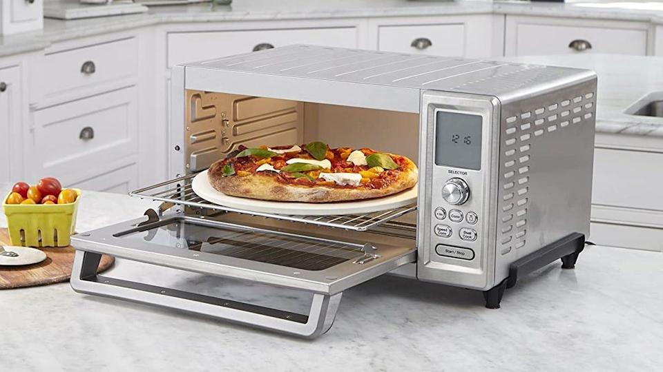 Cuisinart's Chef's Convection toaster oven impressed us with its customizable functions and handsome design.