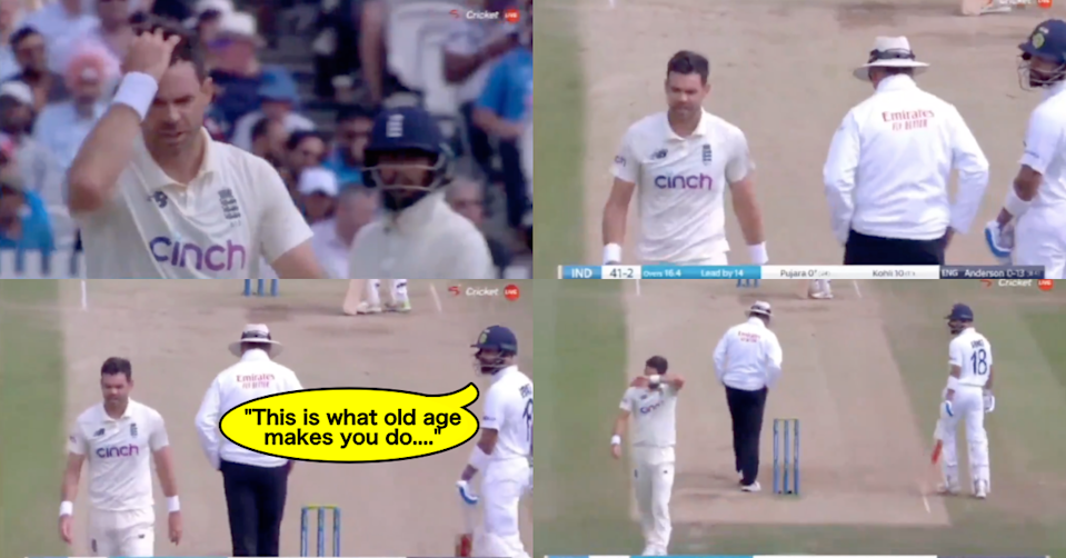 """Watch: """"This Is What Old Age Makes You Do"""" - Full Sledging Incident Between Virat Kohli And James Anderson At Lord's"""