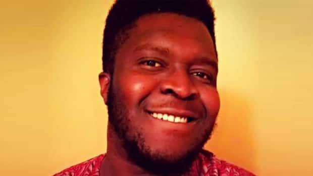 The remains of Oyebode Oyenuga, 25, were found on Walpole Island in March 2021.  (Windsor Police Service - image credit)