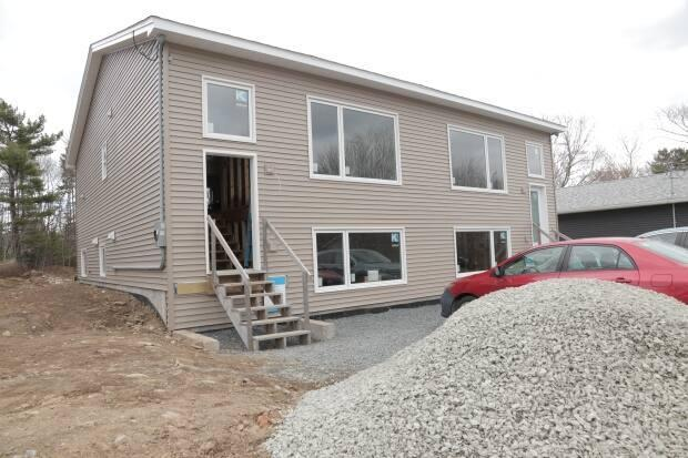 Habitat for Humanity was unable to complete a single home in Nova Scotia in 2020. This is the organization's new project in Spryfield.