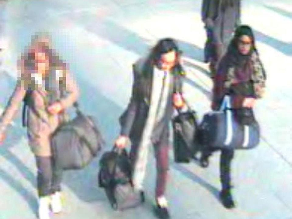 Shamima Begum left the UK in 2015 with two schoolfriends from Bethnal Green