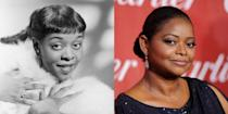 <p>With all similarities between actress Octavia Spencer and singer Dinah Washington's facial features aside, it's their expressive eyes that have us seeing double. </p>