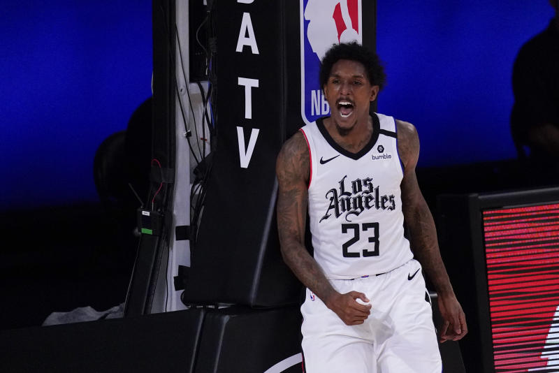 Los Angeles Clippers' Lou Williams