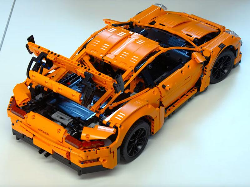 want a porsche 911 gt3 rs for 300 buy this lego masterpiece. Black Bedroom Furniture Sets. Home Design Ideas