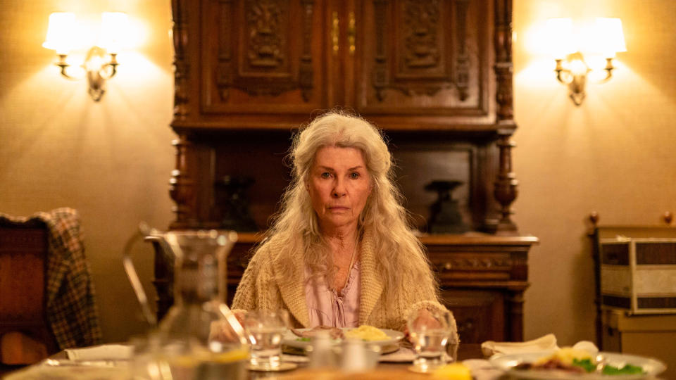 Robyn Nevin in 'Relic'. (Credit: Signature Entertainment)