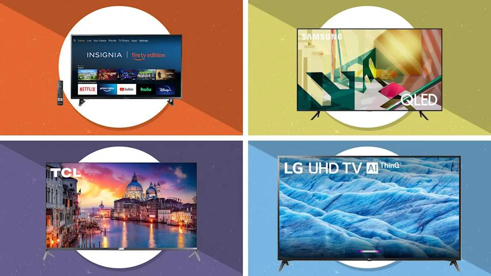 No, you don't need to buy four new TVs this weekend, but there's never been a better time to buy your one and only. (Photo: Yahoo Life)
