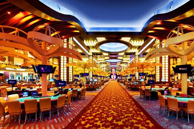 Resorts World Casino main gaming floor
