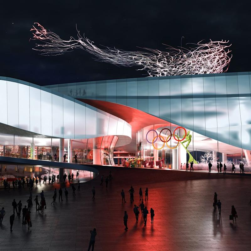 Beijing's new Winter Olympic Museum will feature a fully functional ski slope.