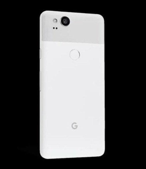 google pixel 2 clearly white3