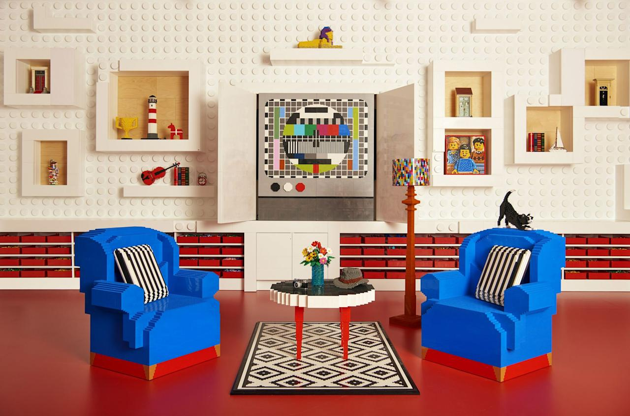 Gallery Of Ucpueairbnb Has Teamed Up With Denmarkus Lego House To Create An  Made With Table En Lego