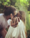 <p>Margot Robbie shared a photo of her engagement on her Instagram account, hinting that she's got serious with boyfriend Tom Ackerley. The Aussie star boasted a pear-shaped rock, complete with diamond encrusted band. <em>[Photo: Instagram/Margot Robbie]</em> </p>