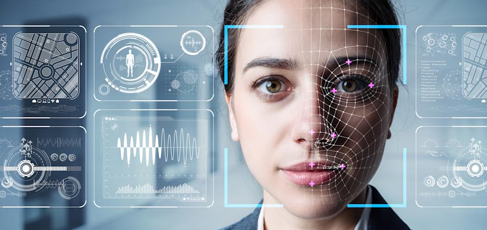 Ondato uses photo and live video identity verification, data monitoring on a unified platform to capture a biometric three-dimensional map of a person for user identification. Photo: Getty