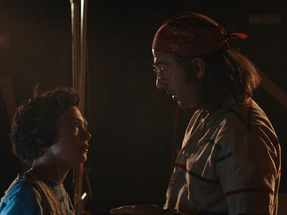 """Shia LaBeouf and Noah Jupe play a father-son duo in """"Honey Boy."""""""