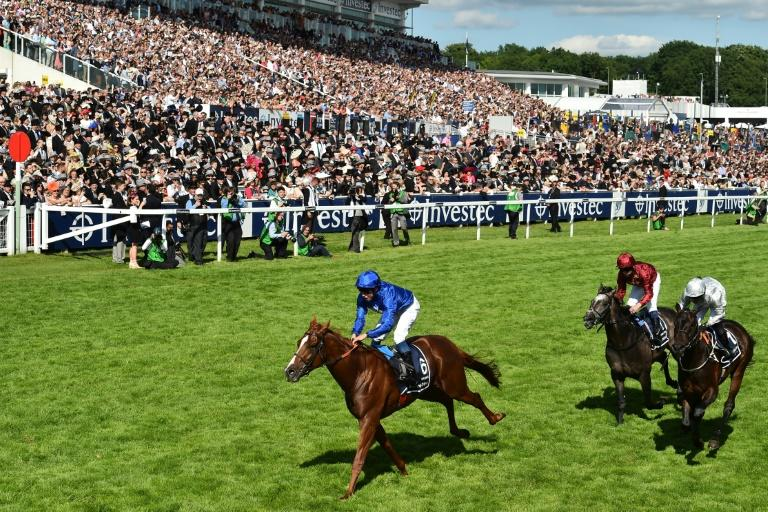 Murphy says the Derby is one of two races he would treasure winning the closest so far third in 2018 on Roaring Lion (AFP Photo/Glyn KIRK)