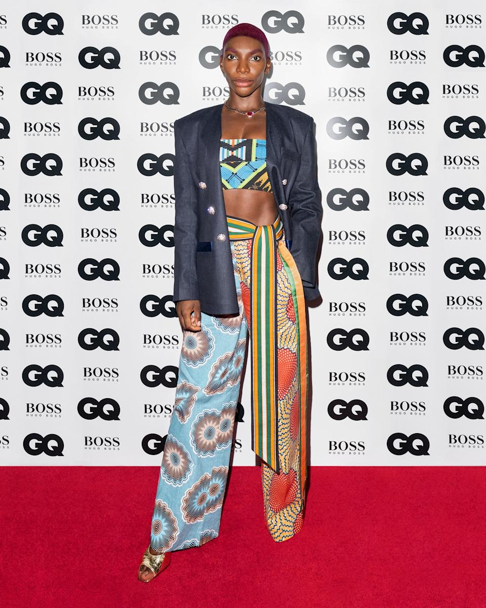 <p>Michaela Coel</p>GQ MEN OF THE YEAR AWARDS 2020 IN ASSOCIATION WITH HUGO BOSS