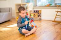<p>Get your little inventor started with the <span>Brackitz Inventor 100-Piece Set</span> ($40), which helps them build 3D structures with movable parts. They can really tap into their engineering, art, math, science, and architecture skills.</p>
