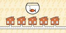 """<p>There are five houses sitting next to each other on a neighborhood street, as depicted in the picture above. Each house's owner is of a different nationality. Each house has different colored walls. Each house's owner drinks their own specific beverage, smokes their own brand of cigar, and keeps a certain type of pet. None of the houses share any of these variables—nationality, wall color, beverage, cigar, and pet—they are all unique.</p><p><strong>WHAT YOU KNOW--</strong><br>The Englishman lives in the house with red walls.The Swede keeps dogs.<br>The Dane drinks tea.<br>The house with green walls is just to the left of the house with white walls.<br>The owner of the house with green walls drinks coffee.<br>The man who smokes Pall Mall keeps birds.<br>The owner of the house with yellow walls smokes Dunhills.<br>The man in the center house drinks milk.<br>The Norwegian lives in the first house.<br>The Blend smoker has a neighbor who keeps cats.<br>The man who smokes Blue Masters drinks beer.<br>The man who keeps horses lives next to the Dunhill smoker.<br>The German smokes Prince.<br>The Norwegian lives next to the house with blue walls.<br>The Blend smoker has a neighbor who drinks water.<br><strong><br>THE QUESTION--</strong><br>One of the house owners keeps fish, who is it?<br><strong><br>Hint</strong><br>If you would like a little help getting started, click <a href=""""http://imgur.com/gallery/j1J1X"""" rel=""""nofollow noopener"""" target=""""_blank"""" data-ylk=""""slk:here"""" class=""""link rapid-noclick-resp"""">here</a>.<br><br>Once you know who keeps fish, you can confirm your answer <a href=""""https://www.popularmechanics.com/science/math/a24621/solution-riddle-of-the-week-10-einsteins-riddle/"""" rel=""""nofollow noopener"""" target=""""_blank"""" data-ylk=""""slk:here"""" class=""""link rapid-noclick-resp"""">here</a>.</p>"""