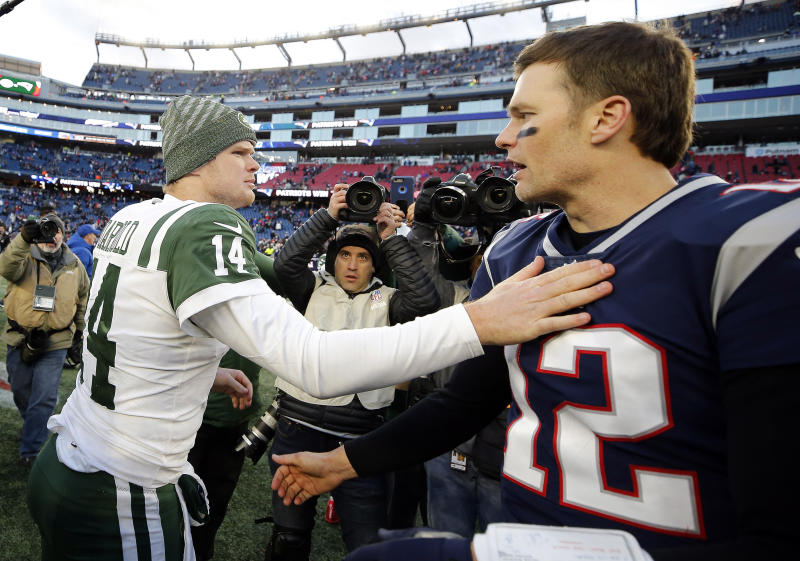 jets sam darnold praises obviously awesome patriots fans for