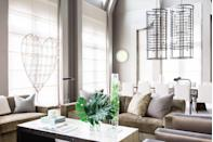 "<p>You don't have to give up your neutral color palette during this romantic time of year. The metal heart sculpture in <a href=""https://www.elledecor.com/design-decorate/house-interiors/a7381/nashville-mansion-house-tour/"" rel=""nofollow noopener"" target=""_blank"" data-ylk=""slk:this Nashville home"" class=""link rapid-noclick-resp"">this Nashville home</a> is just as Valentine's Day-appropriate as any garish red and pink accessories.</p><p><a class=""link rapid-noclick-resp"" href=""https://go.redirectingat.com?id=74968X1596630&url=https%3A%2F%2Fwww.wayfair.com%2FGraham-and-Brown--Art-for-the-Home-Amour-3D-Wall-D%25C3%25A9cor-104032-L1085-K%7EW001876980.html%3Frefid%3DGX478993129634-W001876980%26device%3Dc%26ptid%3D785054611909%26network%3Dg%26targetid%3Dpla-785054611909%26channel%3DGooglePLA%26ireid%3D48880161%26fdid%3D1817%26gclid%3DCjwKCAiA9vOABhBfEiwATCi7GNEDJ5JZcw9REBK4BaWXL7vIXv5yWu6OQ-lIvcJEs7nRH0f6XPh6uBoCL4YQAvD_BwE&sref=https%3A%2F%2Fwww.elledecor.com%2Flife-culture%2Ffun-at-home%2Fg2387%2Fvalentines-day-decor%2F"" rel=""nofollow noopener"" target=""_blank"" data-ylk=""slk:GET THE LOOK"">GET THE LOOK</a><em><br>3D Heart Wall Decor, Wayfair, $33.99</em></p>"