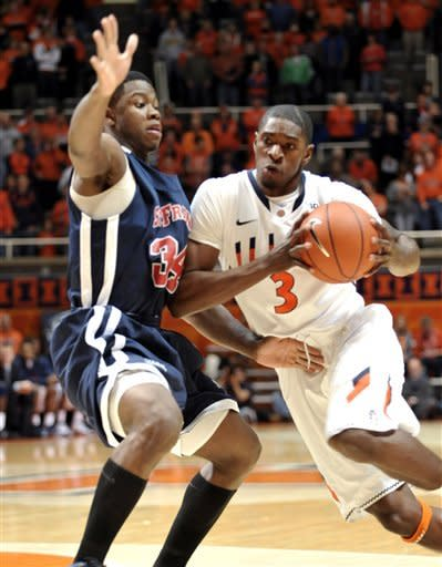 Illinois surges past St. Francis 89-64