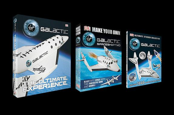 The first three books under the Virgin Galactic-DK deal are set to be released on Sept. 29, 2014.