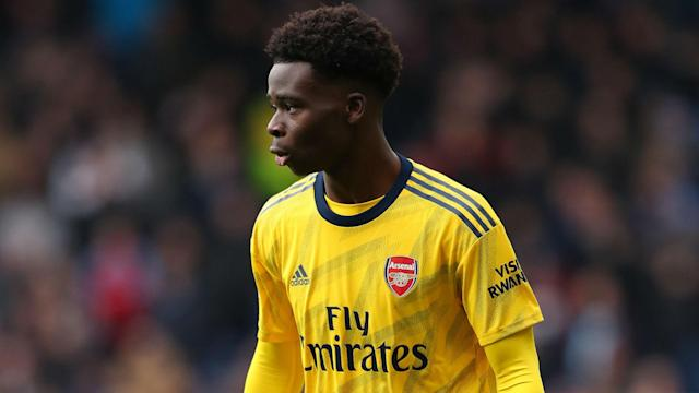 Bukayo Saka has just over a year left on his Arsenal contract, but Mikel Arteta is not concerned about the prospect of youngsters leaving.
