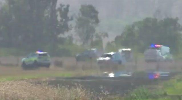 Two men died in the crash. Source: 7News