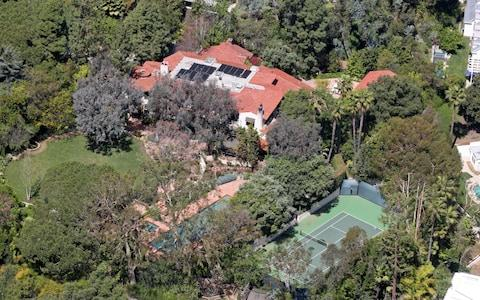 Jeff Bezos also owns an 11,000-square-foot home in Beverly Hills, California - Credit:  Calabrese, CelebrityHomePhotos