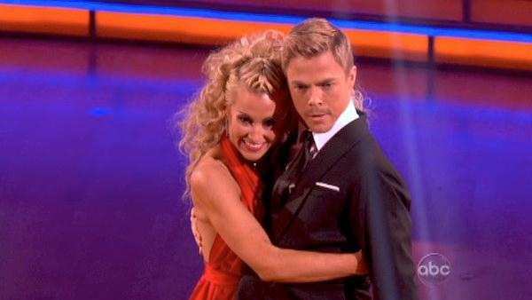 <p>Kellie Pickler's moves were good enough to earn 'Dancing' head judge Len Goodman's first 10 of the season.</p>