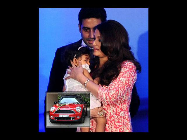 "<div class=""heading03""><strong>Abhi-Aish's B'day gift for Aaradhya</strong></div> <p>As we already told you the house is not the first luxury gift Aardhya Bachchan has received. Her dotting parents bought her a brand new BMW Mini Cooper which comes with a price tag of approximately 25 lakh rupees on her first birthday. But this was also not the first expensive gift the lucky baby received. Abhishek Bachchan gifted her beautiful and loving daughter an Audi 8 when she was just 4 months of age.</p>"