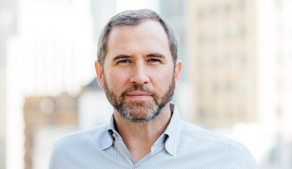Ripple chief executive Brad Garlinghouse. Photo: Ripple